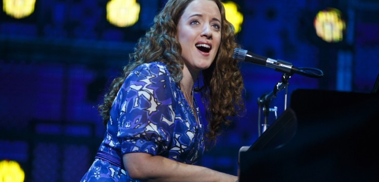 """Abby Mueller in """"BEAUTIFUL – The Carole King Musical."""" Photo by Joan Marcus"""