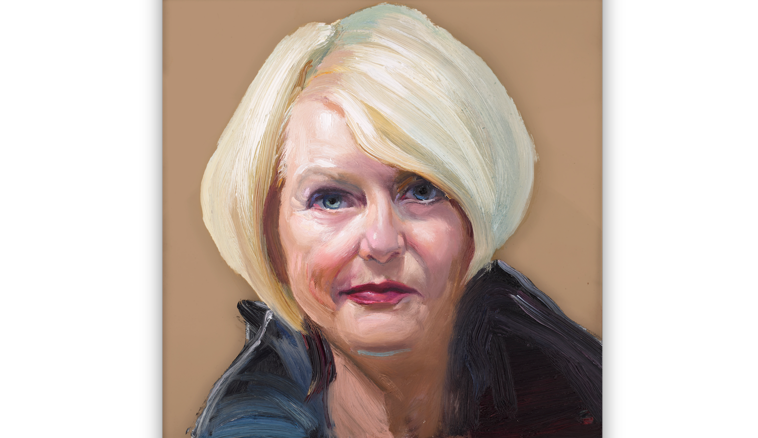 Darcia Jones Francey as painted by Ray Turner