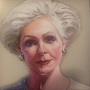 Sara Catanese as painted by Ray Turner
