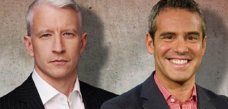 Anderson Cooper and Andy Cohen copy