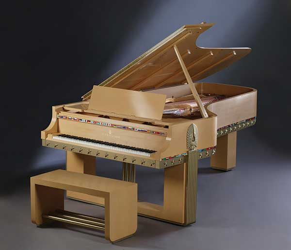 Peace Piano art case Steinway