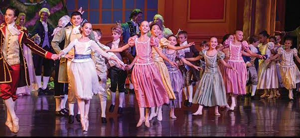 "Space Coast Ballet production of ""The Nutcracker."""