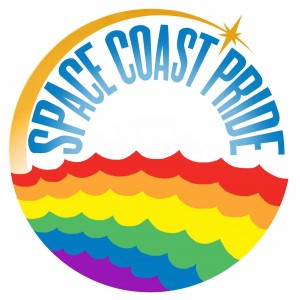 Space Coast Pride logo by Derek Gores