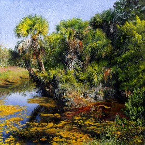 """Palm Point"" by Henry Peter."