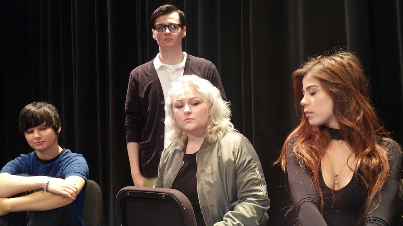 """""""Information"""" as presented by the acting class at Eastern Florida State College."""