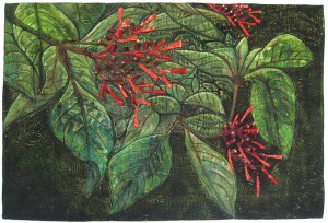 """""""Foliage"""" by Gabrielle DiTota won first place at 2016 100% Pure Florida at the Fifth Avenue Art Gallery."""