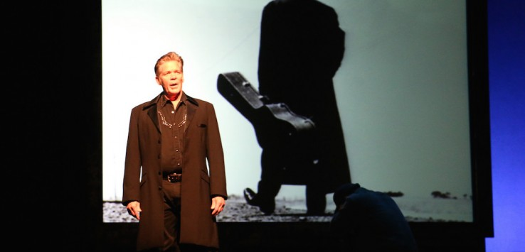 "Jason Edwards stars in ""Ring of Fire: The Music of Johnny Cash"" at Riverside Theatre."