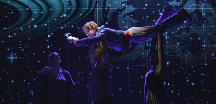Original Broadway Company of  The Curious Incident of the Dog in the Night-Time. Photo: Joan Marcus