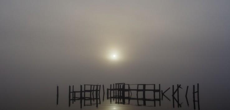 """Early Morning Fog"" by John Sluder. 2014."