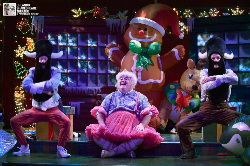 """Every Christmas Story Ever Told, and then Some"" at Orlando Shakes."