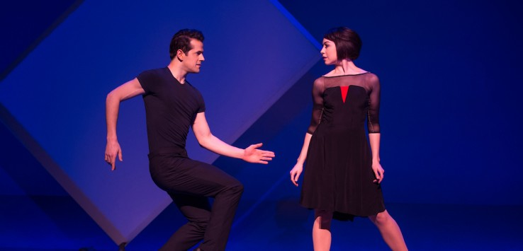 "From ""AN AMERICAN IN PARIS"" Robert Fairchild & Leanne Cope, Photo: Matthew Murphy"