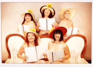 From CALENDAR GIRLS at Melbourne Civic Theatre.