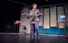 """Suzanne O'Donnell as Vivienne in """"Blackerry Winter"""" at Orlando Shakes. Photo by  Tony Firriolo"""