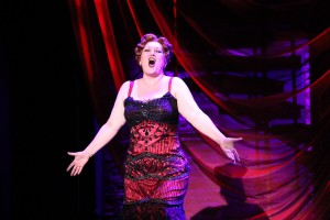 Meghan Colleen Moroney as Matron Mama in Riverside Theatre's CHICAGO