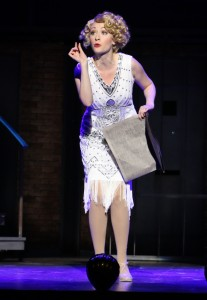 Kaitlyn Davidson as Roxie Hart in Riverside Theatre's CHICAGO