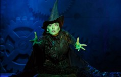 Jessica Vosk as Elphaba in WICKED