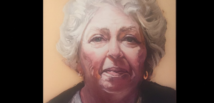 Dee Negroni-Hendrick as painted by Ray Turner