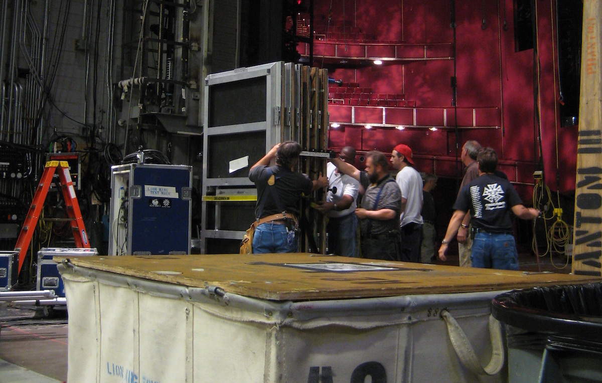 Backstage at the Kennedy Center. Photo by Pam Harbaugh.