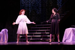 Michele Ragusa and Corinne Melancon in MAME at Riverside Theatre