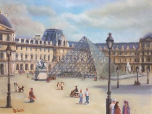 """A Day at the Louvre"" by Nancy Anne Gatti"