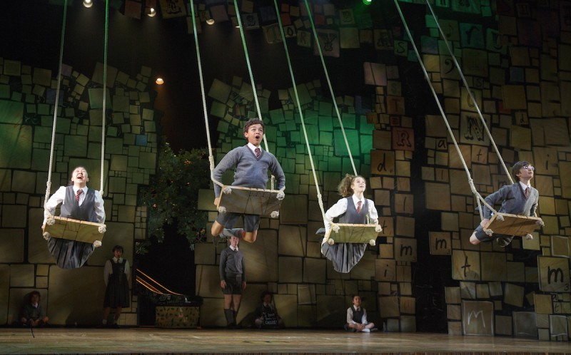 From MATILDA. Photo by Joan Marcus.