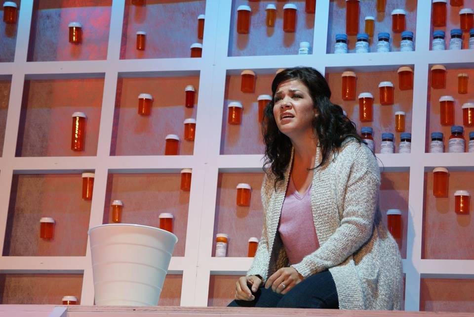 From Titusville Playhouse's NEXT TO NORMAL. Photo by Niko Stamos.