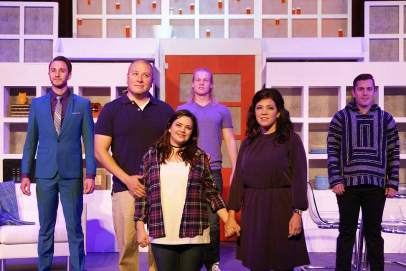 From Titusville Playhouse's NEXT TO NORMAL. Photo by Niko Stamos