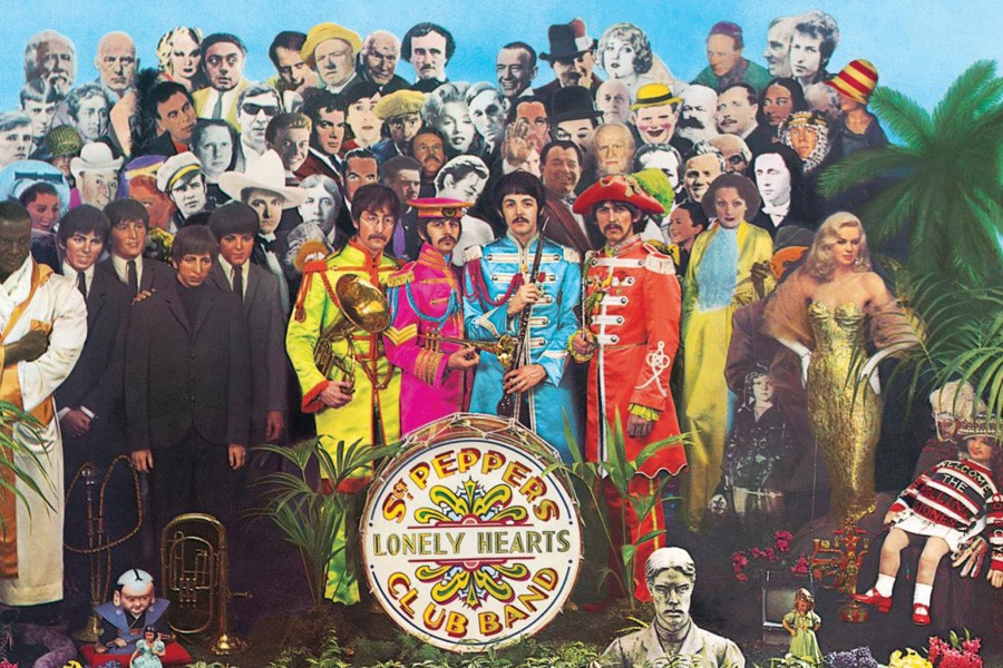 THE BEATLES Sgt. Pepper's Lonely Hearts Club Band album cover