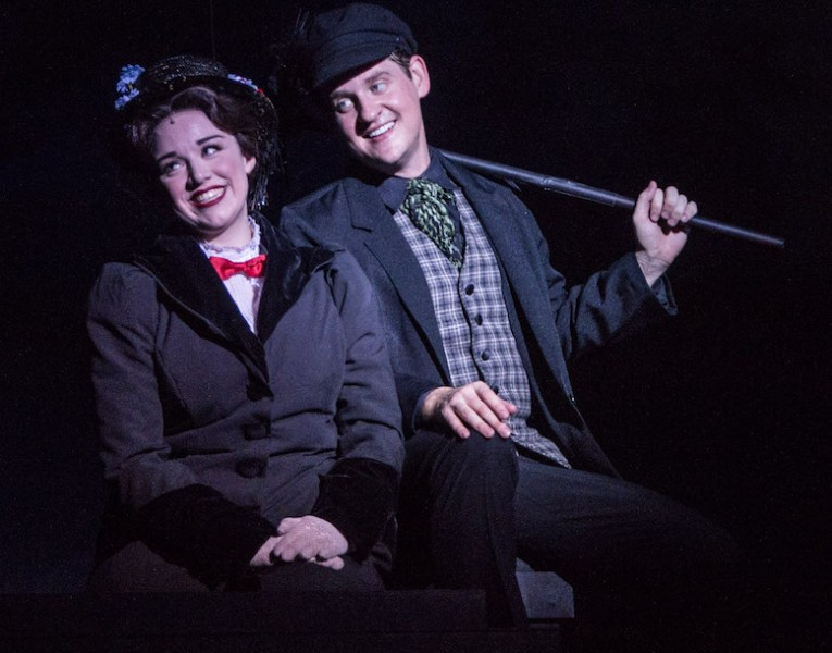 From Cocoa Village Playhouse's production of MARY POPPINS. Photo by Jonathan Goforth.