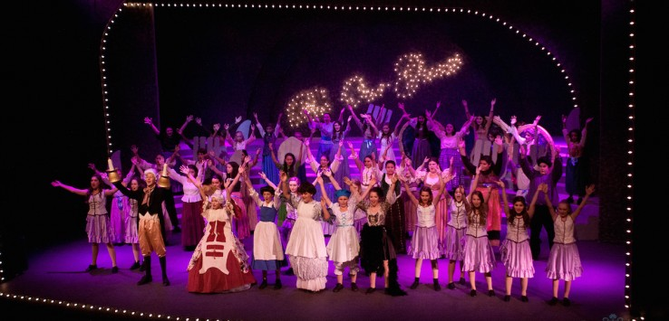 Summer Camp at the Henegar Center BEAUTY AND THE BEAST photo by Dana Niemeier