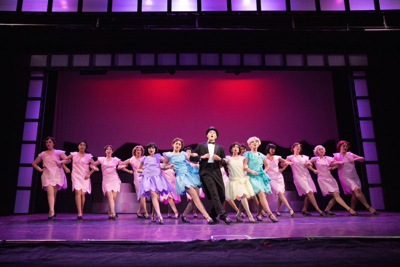 From SINGIN' IN THE RAIN at the Henegar's high school summer musical theater program. Photo by Dana Niemeier Photography