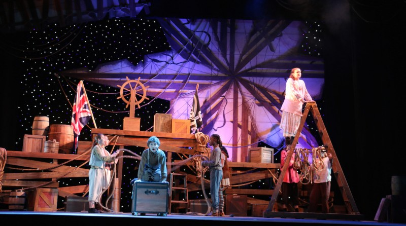From PETER AND THE STARCATCHER at Riverside Theatre's children's summer program
