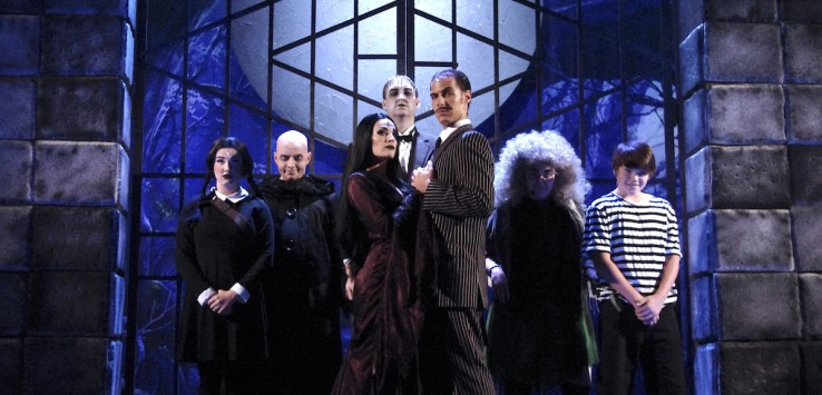 THE ADDAMS FAMILY at Titusville Playhouse.