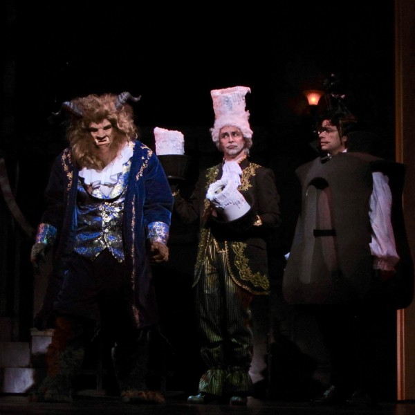 From Cocoa Village Playhouse's BEAUTY AND THE BEAST. Photo by Goforth Photography