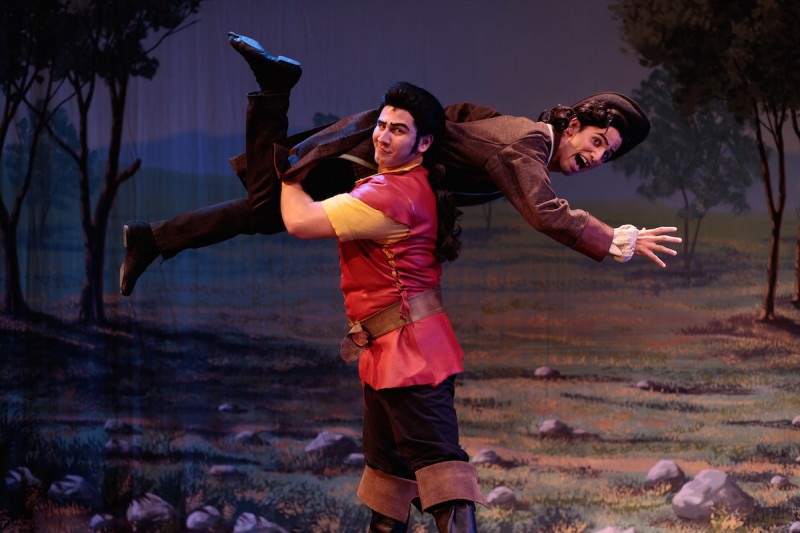 Lawrence Mazza and David Morales iCocoa Village Playhouse's BEAUTY AND THE BEAST. Photo by Goforth Photography