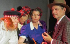 The 39 Steps at Surfside Playhouse 2017