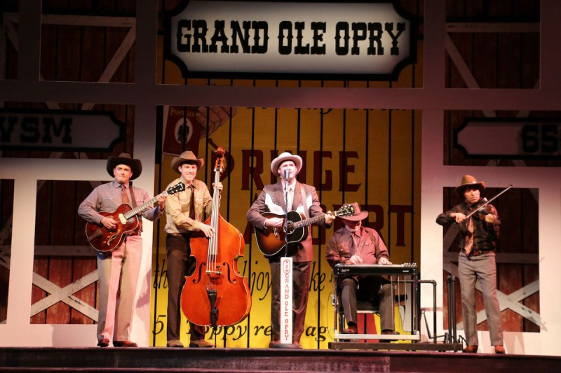 HANK WILLIAMS: LOST HIGHWAY stars Ben Hope at Riverside Theatre.