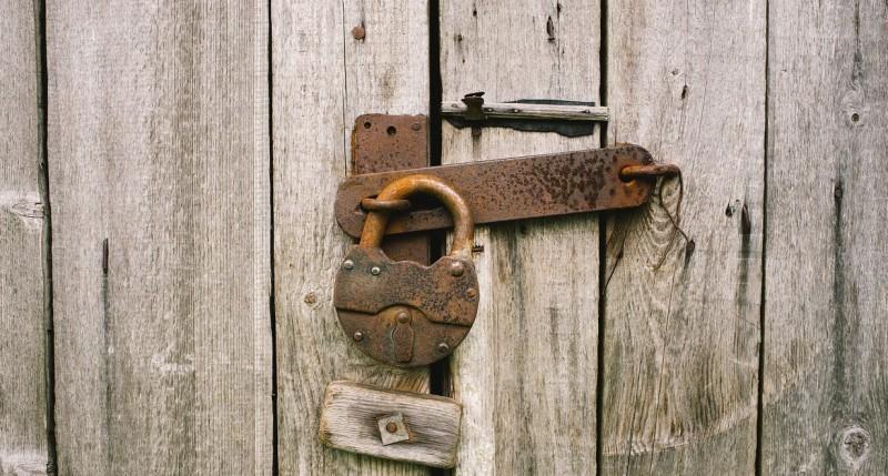 closed locked